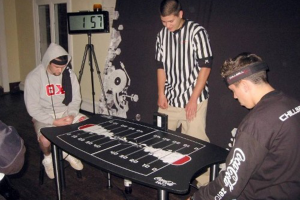 Students playing Mindball game for Focus, Focus Game, Focus EEG, Focus Game EEG